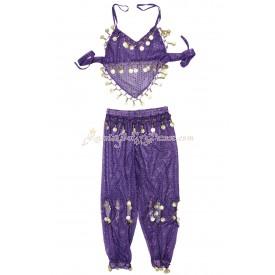 Детский костюм для восточного танца.